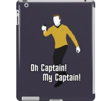 Oh Captain! My Captain! - James T. Kirk - Star Trek iPad Case/Skin