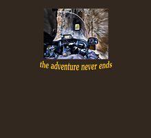 The Adventure Never Ends Unisex T-Shirt