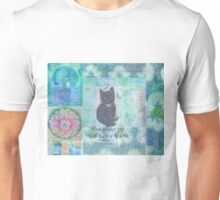Cat quote by Charles Dickens Unisex T-Shirt
