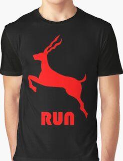 Antelope Red Graphic T-Shirt