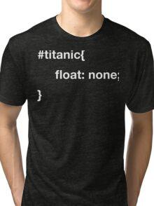 CSS joke. Tri-blend T-Shirt