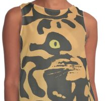 Tiger Zoo Poster Contrast Tank