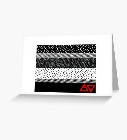 Air&Earth (AV) levels Greeting Card