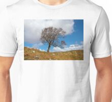 A single tree, Dumfries and Galloway Unisex T-Shirt