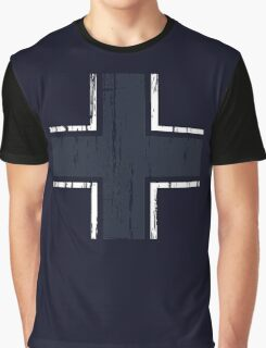Luftwaffe Gothic Cross Graphic T-Shirt
