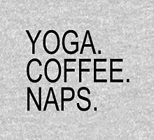 Yoga. Coffee. Naps. Pullover