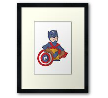 captain f Framed Print