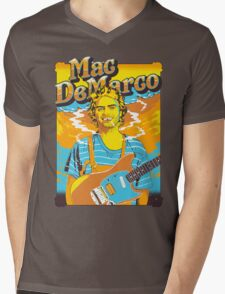 Mac DeMarco Mens V-Neck T-Shirt