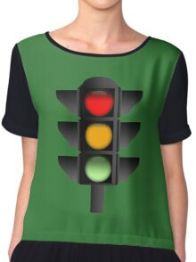 Traffic Lights Chiffon Top