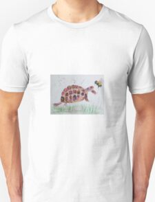 Bumble bee and Tortoise Unisex T-Shirt
