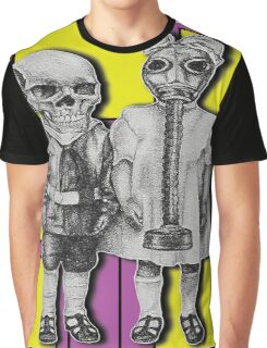 Two Pairs Graphic T-Shirt