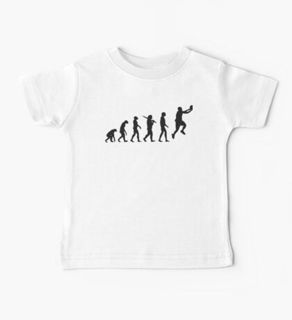 basketball evolution Baby Tee