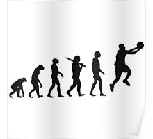 basketball evolution Poster