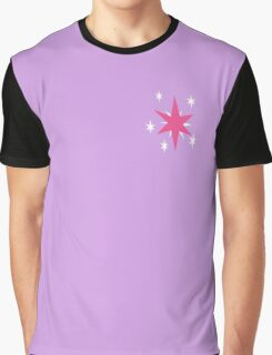 Twilight Sparkle Cutie Mark Graphic T-Shirt