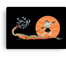 Dragon Slayer - A Bit of Whimsy Canvas Print