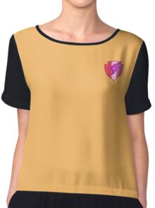 Scootaloo Cuite Mark Women's Chiffon Top