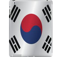 South Korea flag iPad Case/Skin