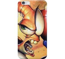 Earthworm jim iPhone Case/Skin