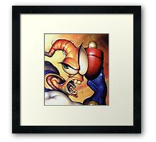Earthworm jim Framed Print