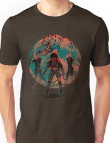 Big Red Riding Hood Unisex T-Shirt