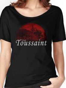 VISIT TOUSSAINT - Red Moon (The Witcher) Women's Relaxed Fit T-Shirt