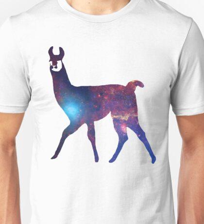 Space Llama Unisex T-Shirt