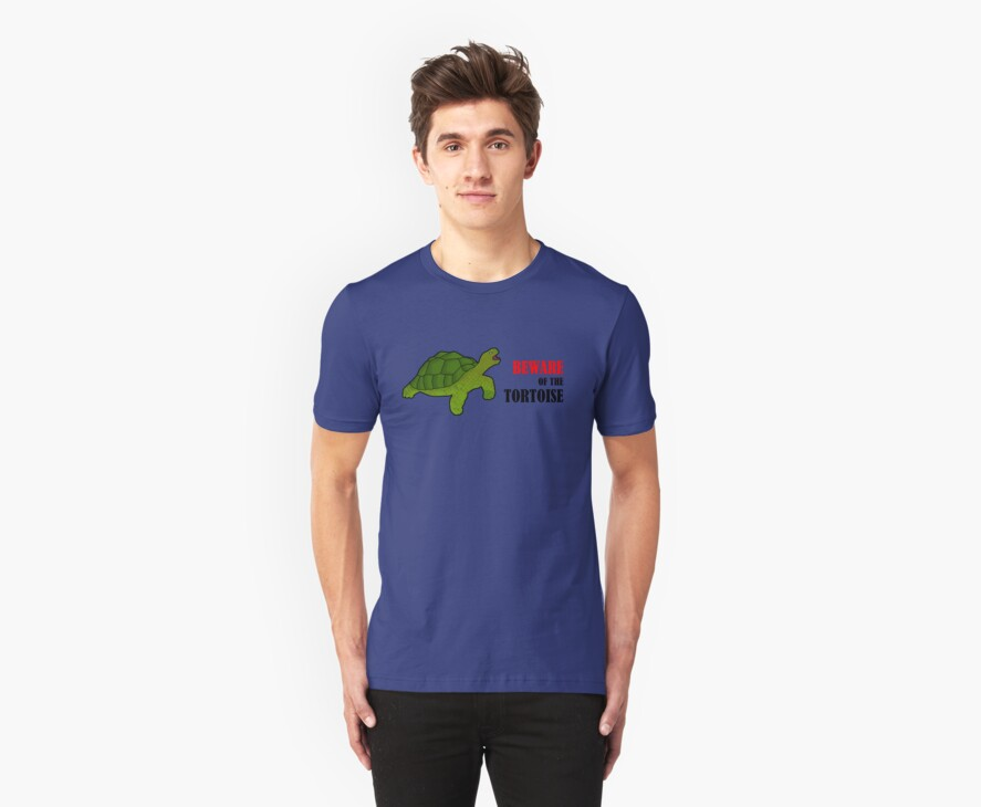 Beware of the Tortoise T-Shirt by Fotopia