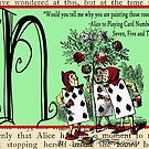 Alice in Wonderland and Through the Looking Glass Alphabet N by Samitha Hess Edwards