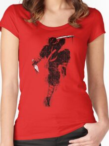 Killer Ninja Women's Fitted Scoop T-Shirt