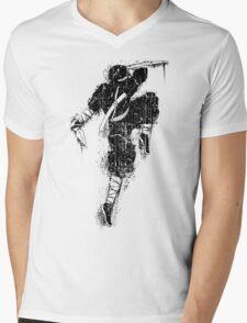 Killer Ninja Mens V-Neck T-Shirt