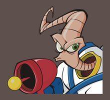 Earthworm jim One Piece - Short Sleeve
