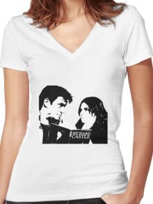 Stanathan Women's Fitted V-Neck T-Shirt