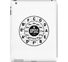 Circle of Fifths iPad Case/Skin