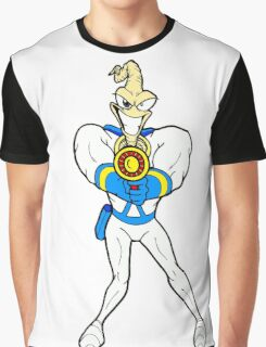 Earthworm Jim Graphic T-Shirt