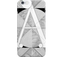 The 'A' Letter iPhone Case/Skin