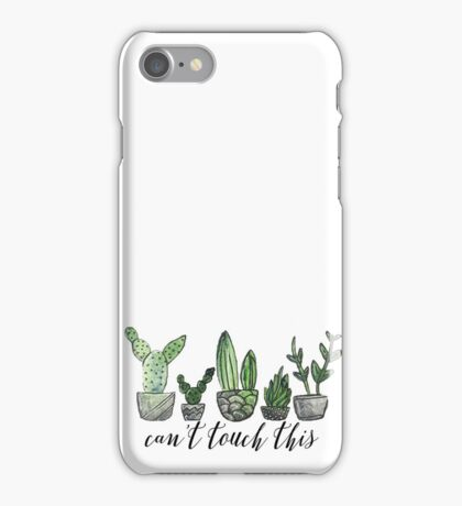 Can't Touch This iPhone Case/Skin