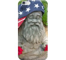 Patriotic Gnome USA iPhone Case/Skin