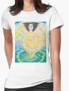 Transcendent Soul Womens Fitted T-Shirt