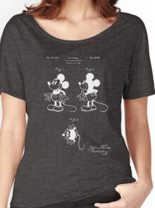 Mickey Mouse Patent - Blueprint Women's Relaxed Fit T-Shirt