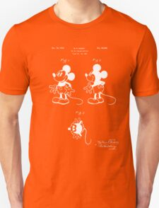 Mickey Mouse Patent - Blueprint Unisex T-Shirt