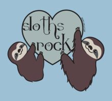 Sloths Rock One Piece - Short Sleeve