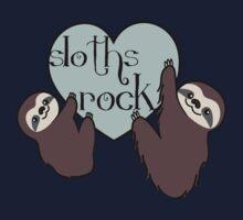 Sloths Rock One Piece - Long Sleeve