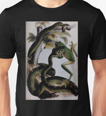 Proceedings of the Zoological Society of London 1848 - 1860 V4 Reptilia 035 Unisex T-Shirt