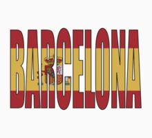 Barcelona. Kids Tee