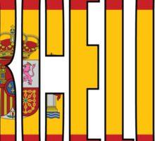 Barcelona. Sticker