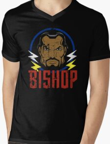 Bishop • X-Men Animated Series Mens V-Neck T-Shirt