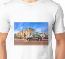 Taxi Buckingham Palace Unisex T-Shirt