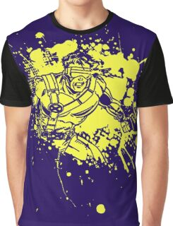 Cyclops • X-Men Splat Design Graphic T-Shirt