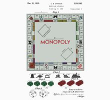 Monopoly Patent - Color One Piece - Short Sleeve