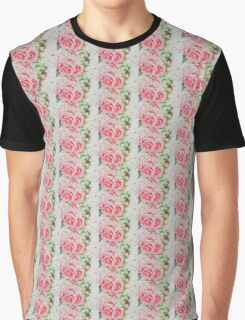 Roses are Pink Graphic T-Shirt